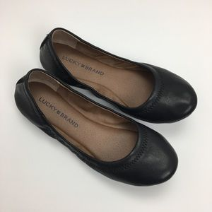 Lucky Brand Leather Emmie Ballet Flats Elysia